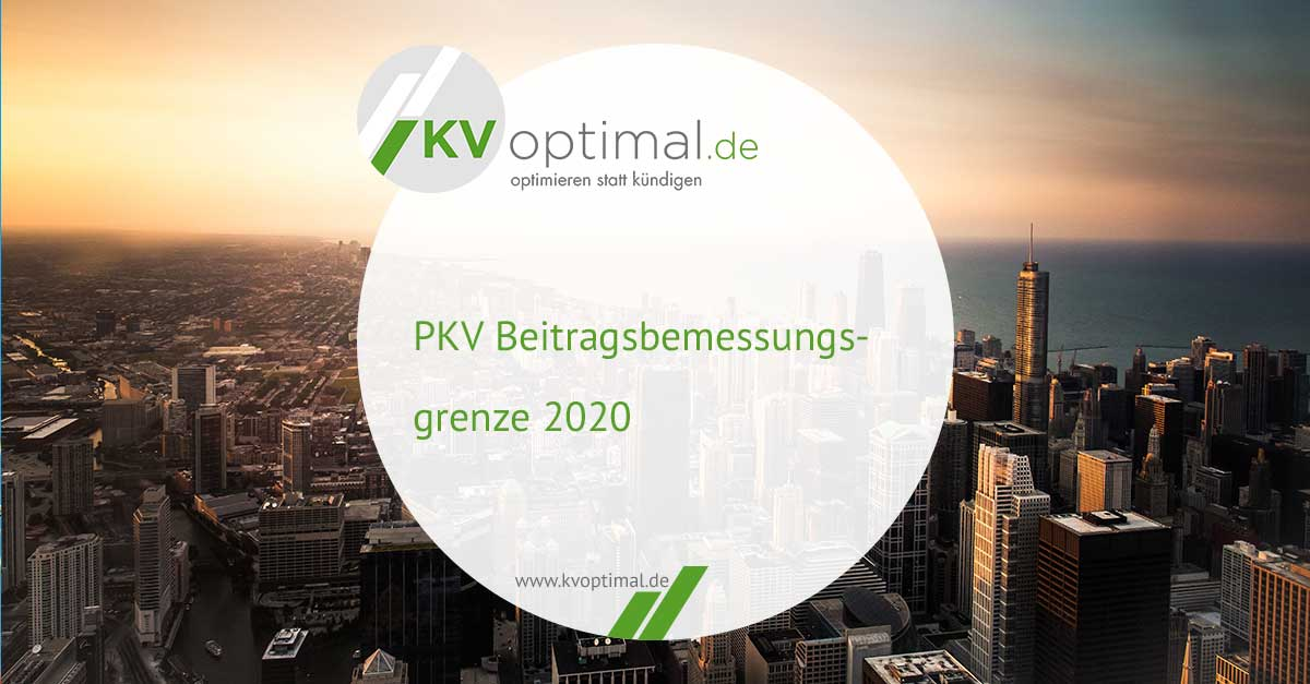 PKV Beitragsbemessungsgrenze 2020