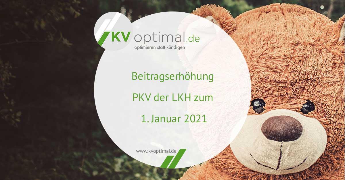 Beitragserhöhung Pkv 2021