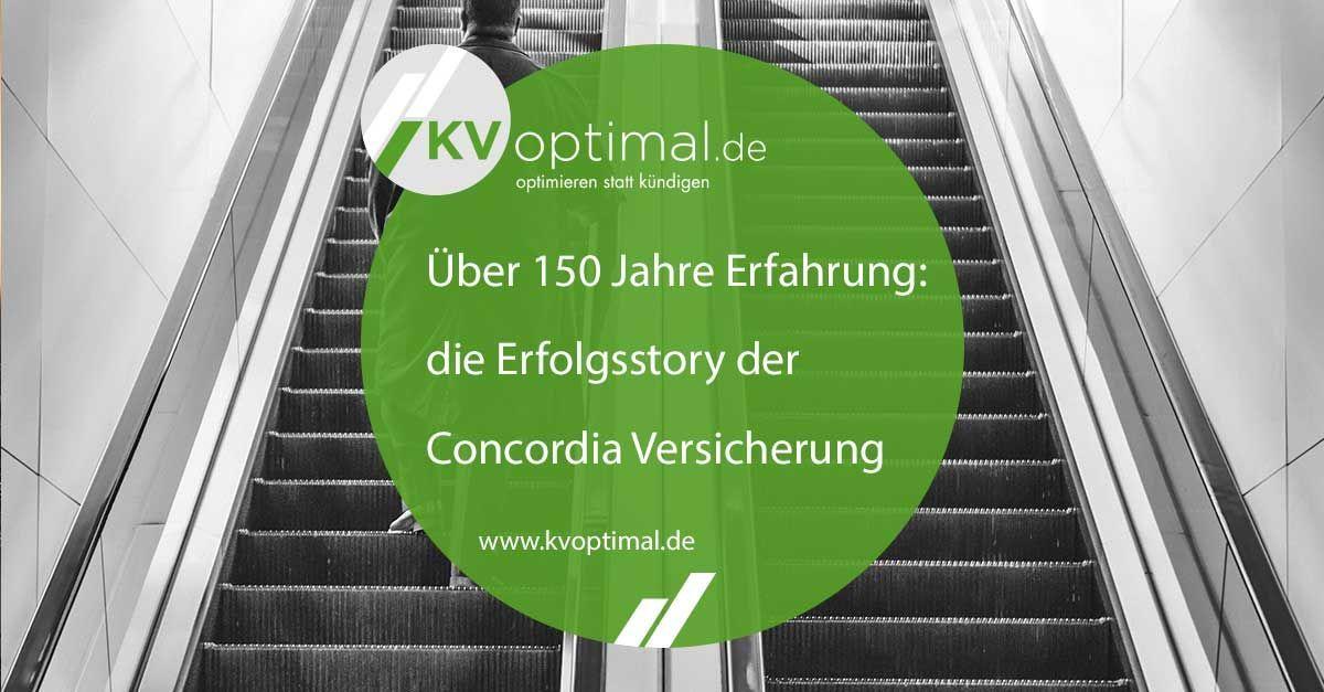 Uber 150 Jahre Erfahrung Die Erfolgsstory Der Concordia Versicherung